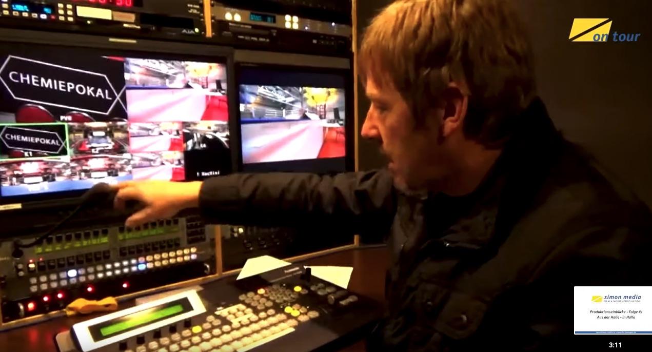 Ü-Wagen: Liveübertragung Boxen