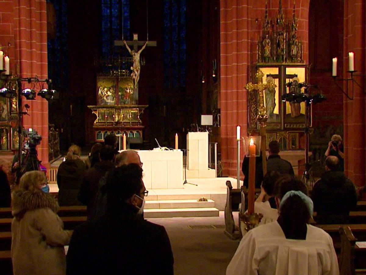 Liveübertragung u. Streaming Gottesdienst - Dom Frankfurt
