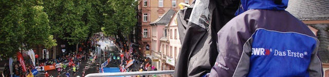 Live-Übertragung Gutenberg Marathon Mainz