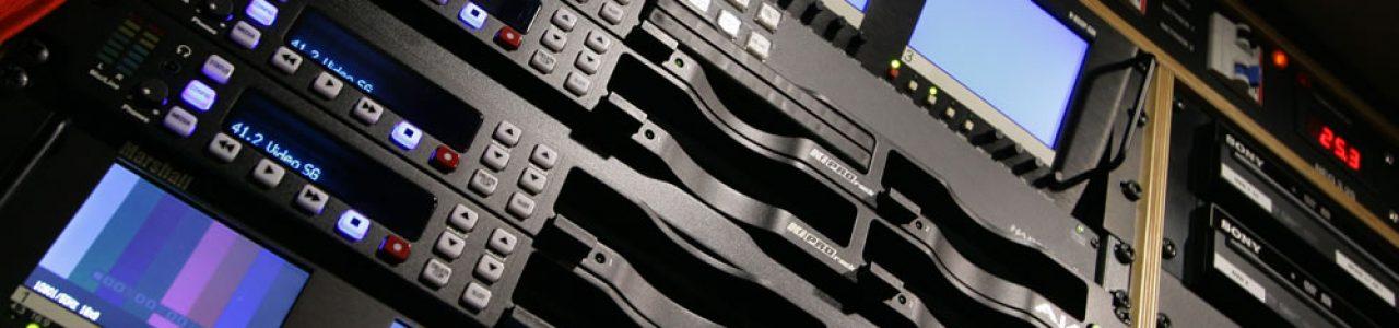 Kirpo im Rack des Ü1HD-Übertragungswagens