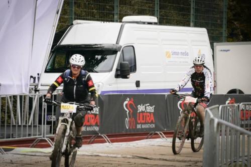 Ü-Wagen beim Black Forest Ultra Bike 04