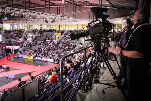 Liveübertragung Hallenrad WM Stuttgart 04